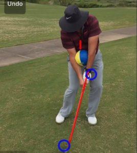 Golf Impact position