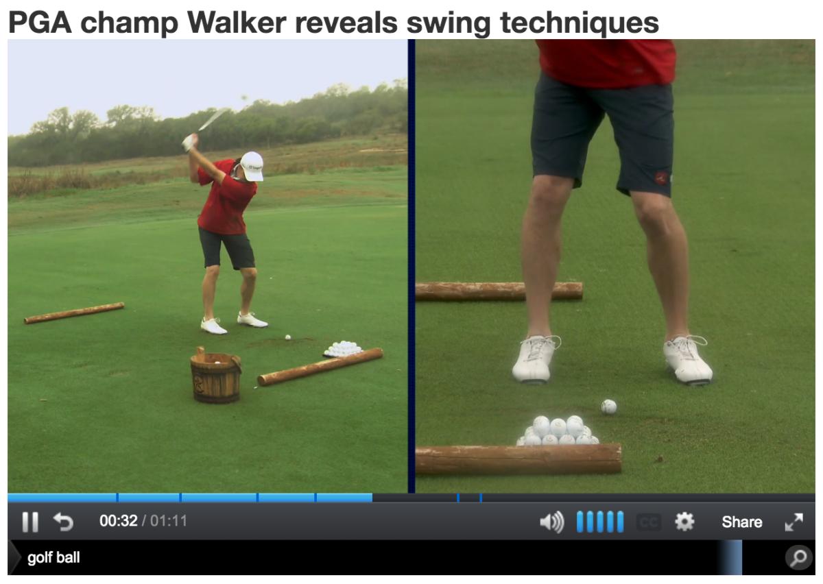 jimmy walker golf swing