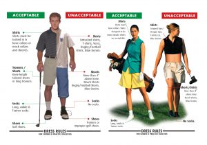 What to wear to the golf course