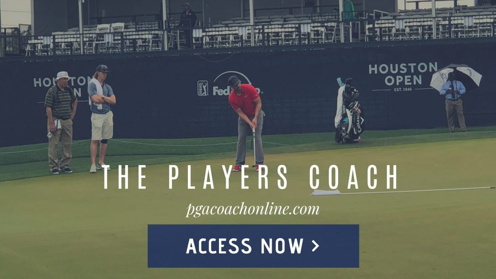 online golf training